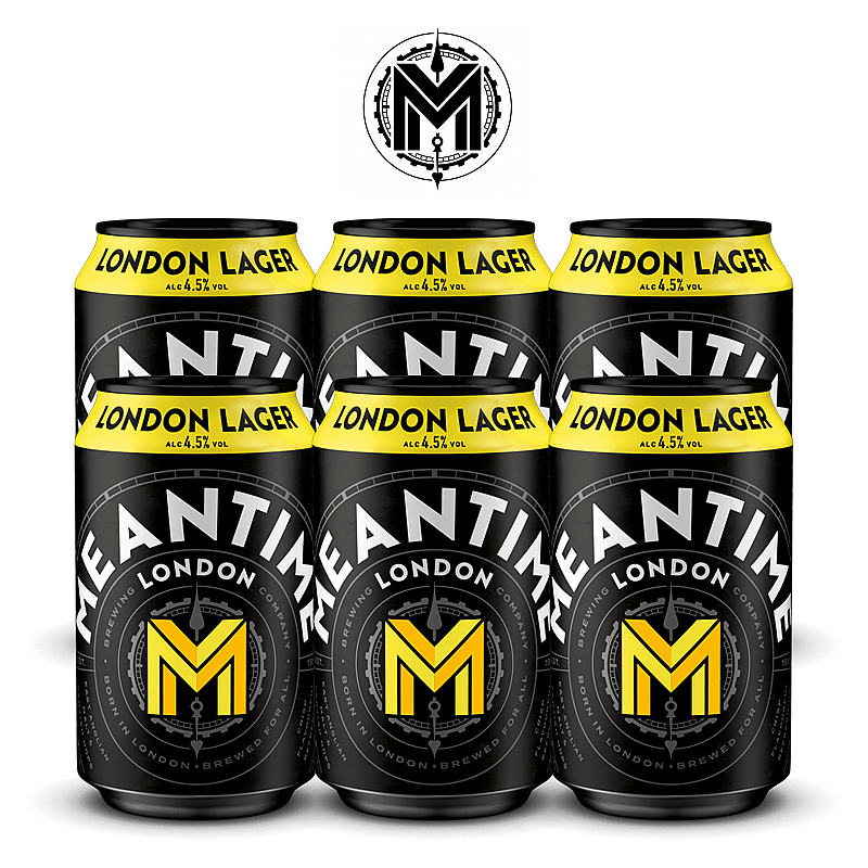 London Lager 6 Case by Meantime Brewing