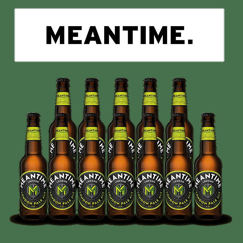 London Pale Ale 12 Case Bottles by Meantime Brewing