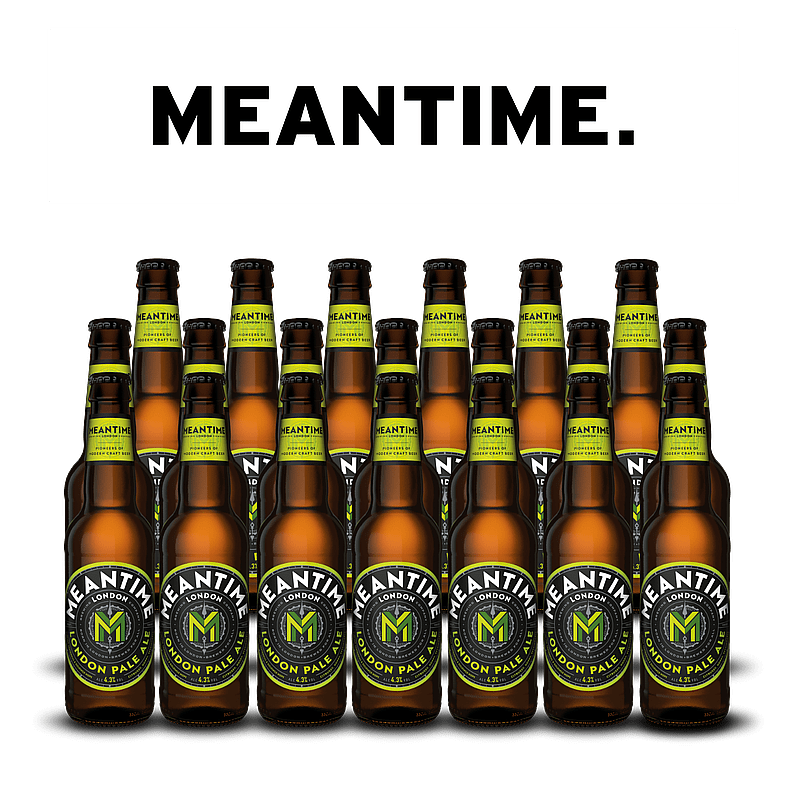 London Pale Ale 20 Case Bottles by Meantime Brewing