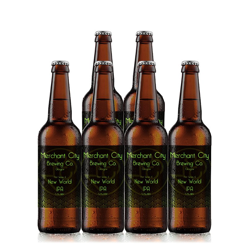 New World IPA 6 Case by Merchant City Brewing