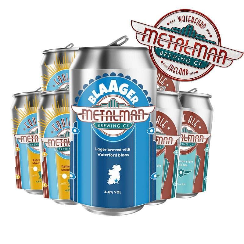 Metalman Mixed Case Collection by Metalman Brewing Co