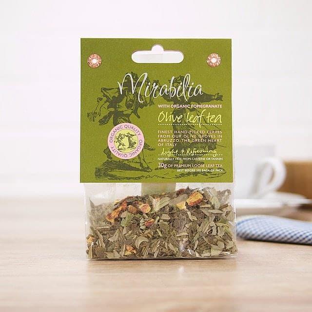 Olive Leaf Tea with Pomegranate by Olive Leaf Tea