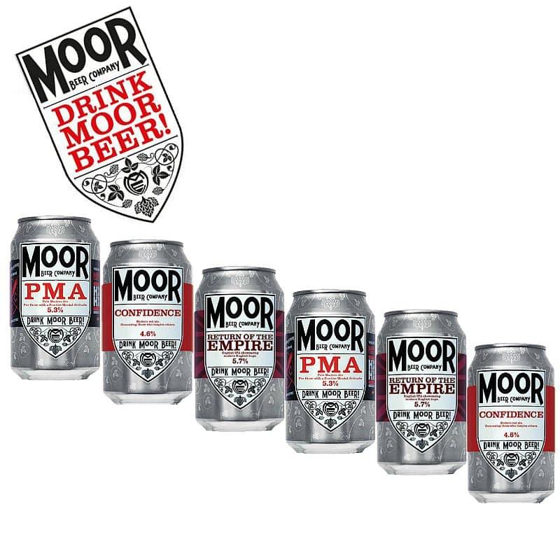 Moor 6 pack Collection by Moor Beer