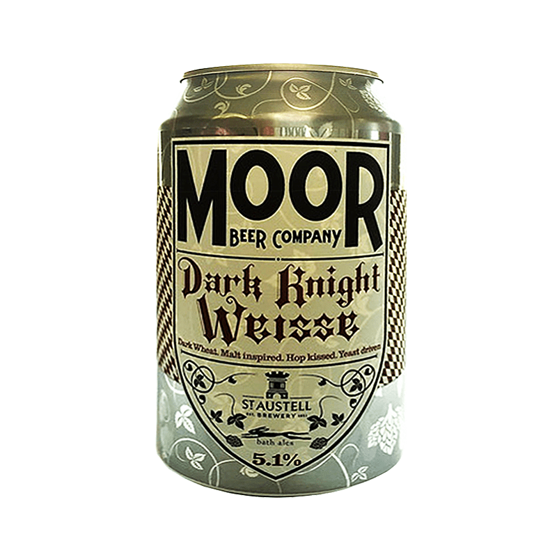 Dark Knight Weisse by Moor Beer