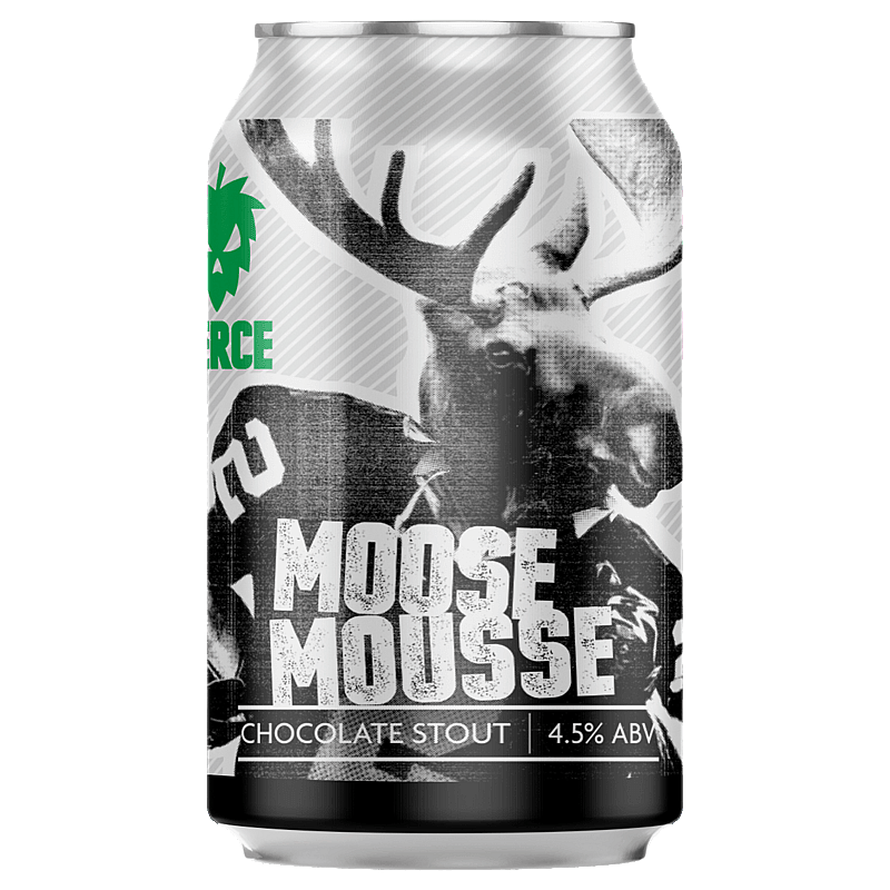 Fierce Beer Moose Mousse Can by Fierce Beer