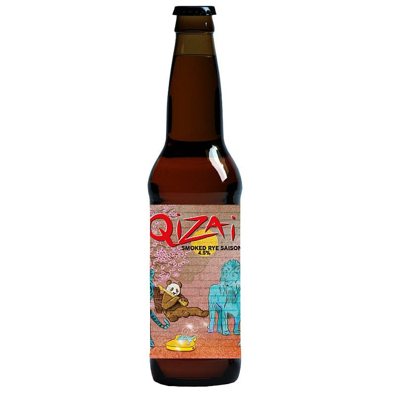 Mordue Qizai Rye Saison by Mordue Brewery