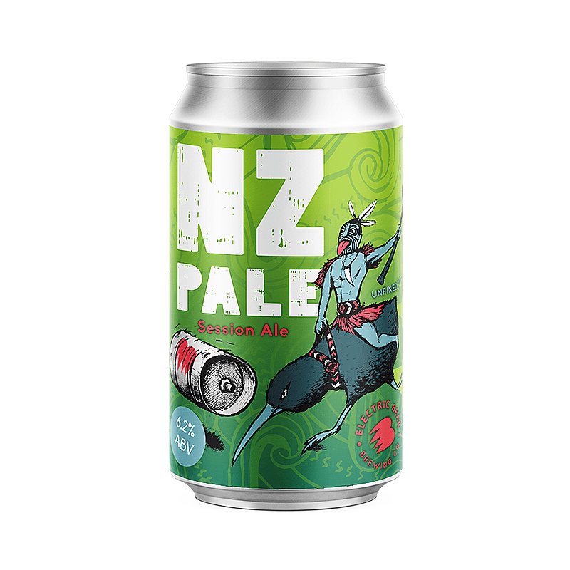 NZ Pale by Electric Bear Brewing Co.