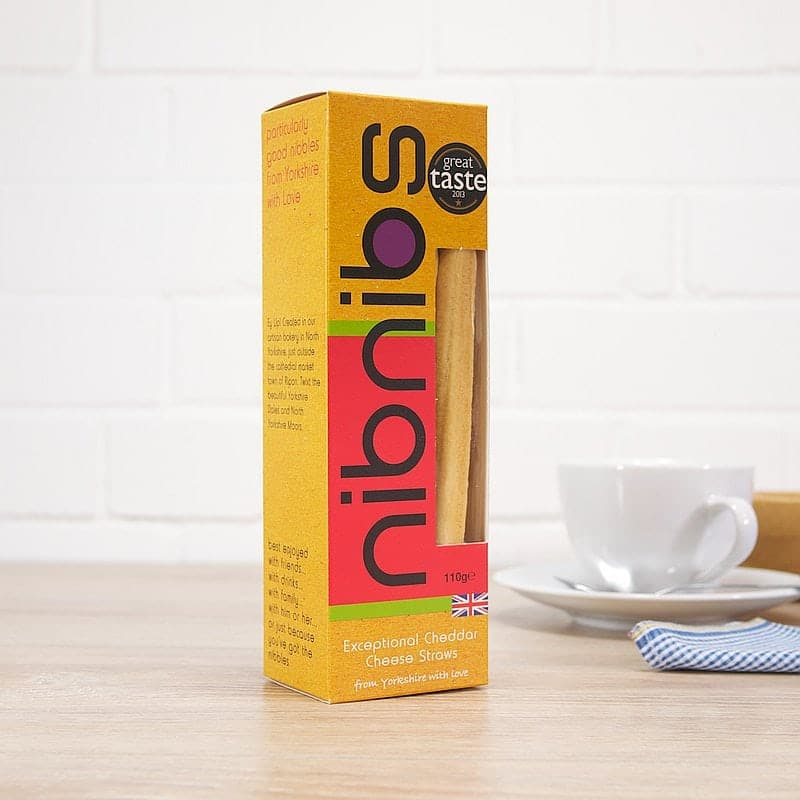 Exceptional Cheddar Cheese Straws by Nib Nibs