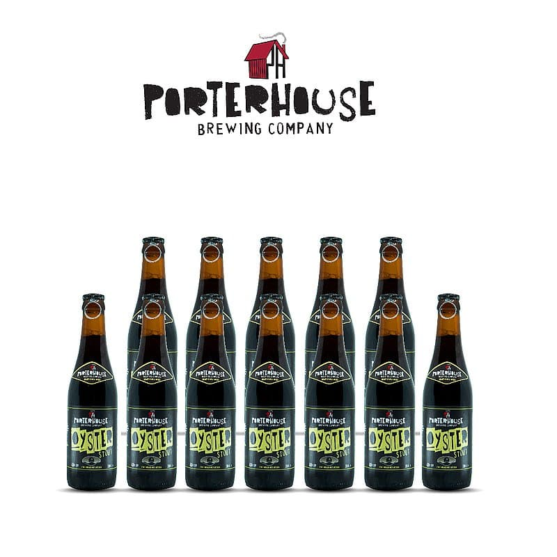 Oyster Stout 12 Case by Porterhouse Brewing Co.