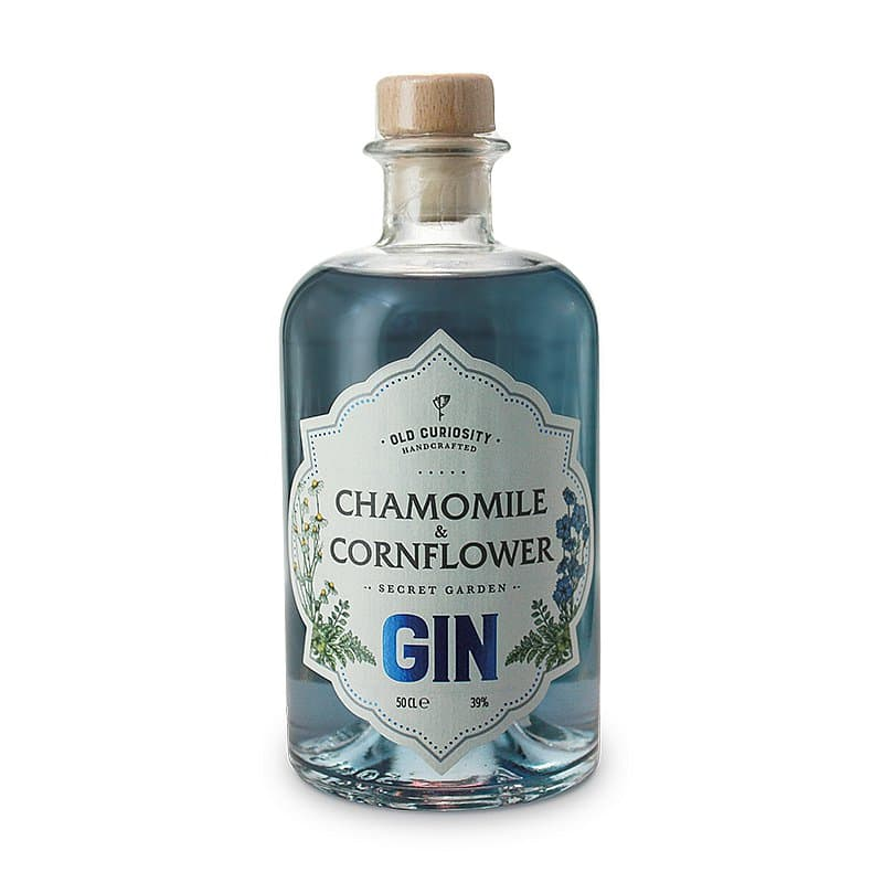 Cornflower Chamomile Gin by Old Curiosity Distillery