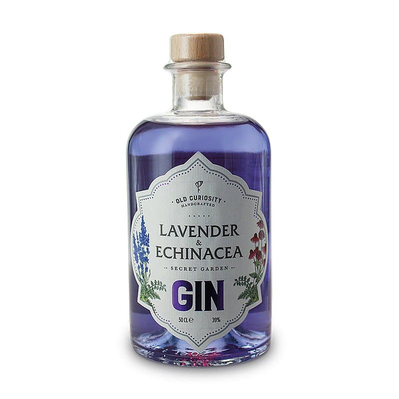 Lavender & Echinacea Gin by Old Curiosity Distillery