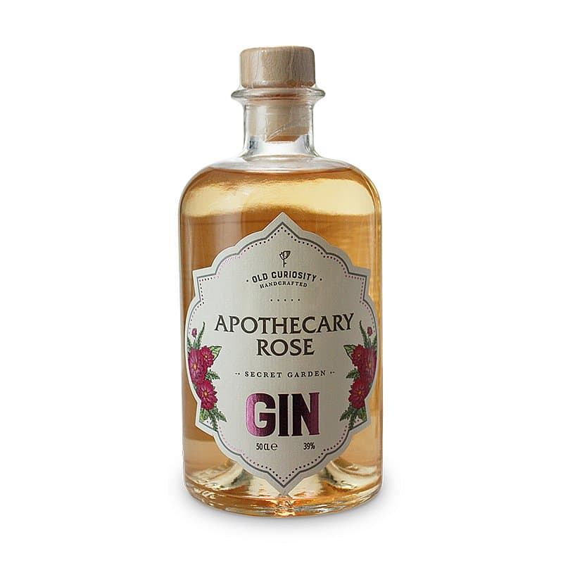 Apothecary Rose Gin by Old Curiosity Distillery