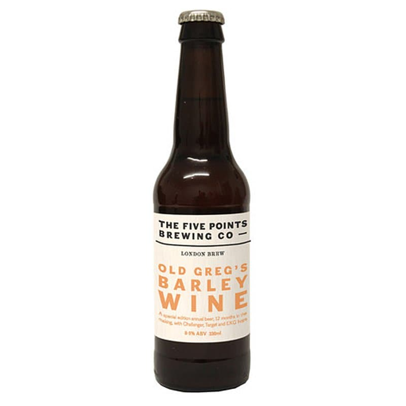 Old Greg's Barley Wine by Five Points