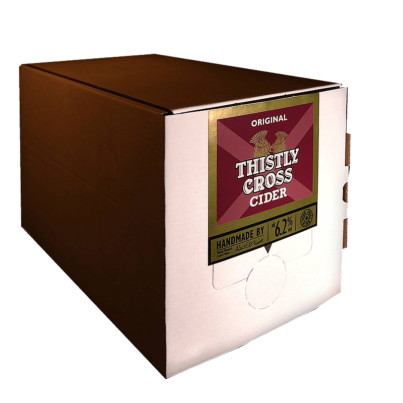 Bag in Box Original Cider by Thistly Cross