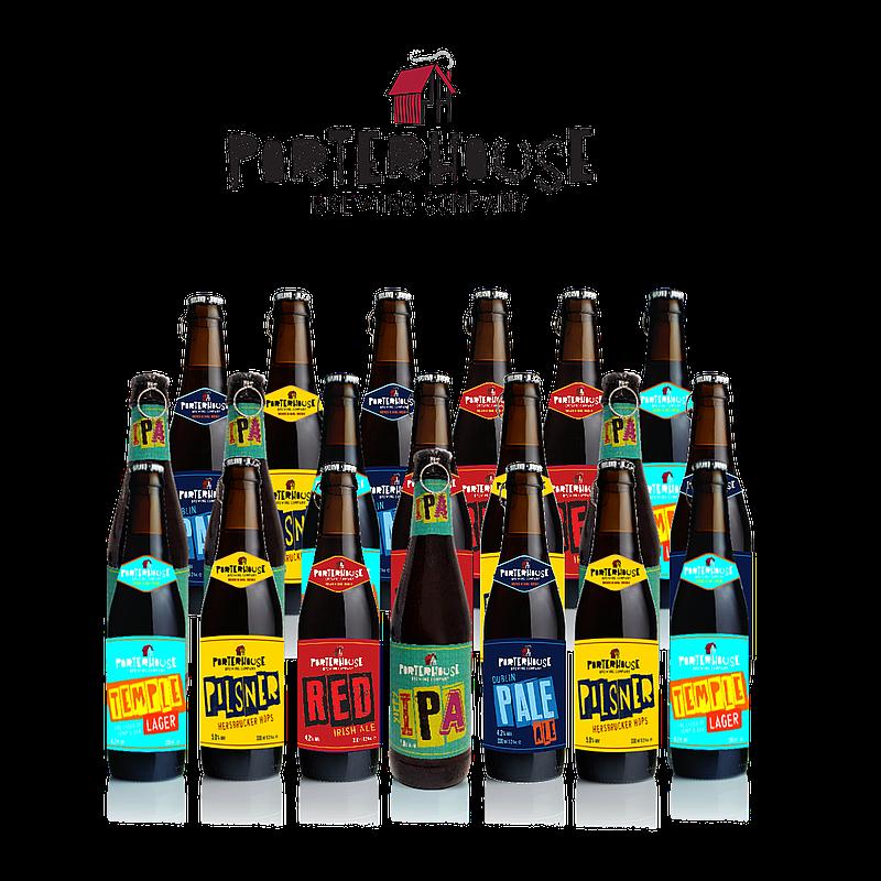 Mixed 20 Case by Porterhouse Brewing Co.