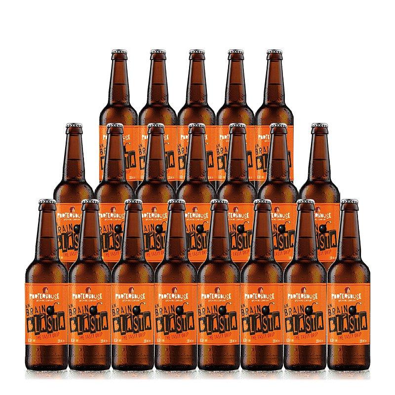 An Brain Blasta 20 Case by Porterhouse Brewing Co.