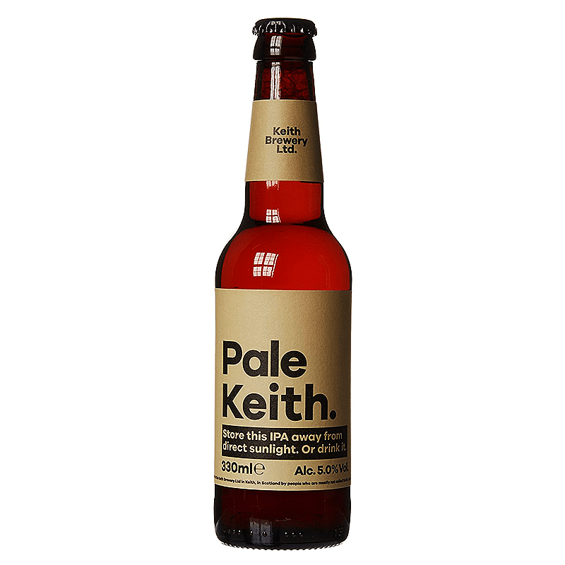 Pale Keith by Keith Brewery Ltd