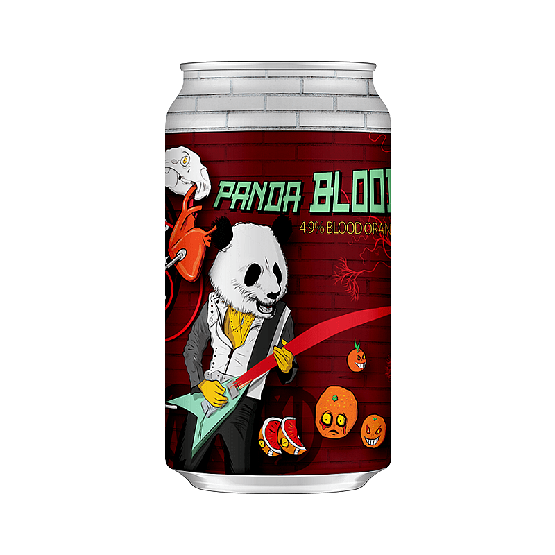 Panda Blood by Mordue Brewery