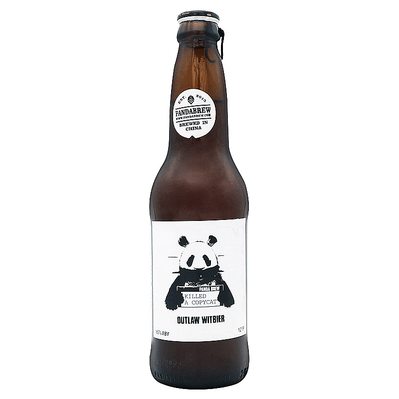 Outlaw Witbier by Panda Brew