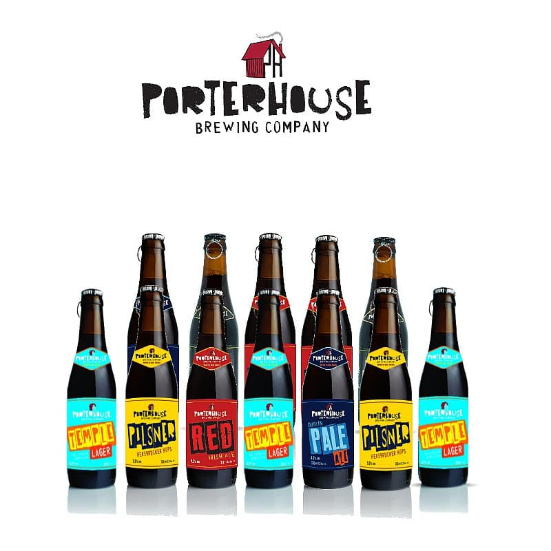 Mixed 12 Case by Porterhouse Brewing Co.