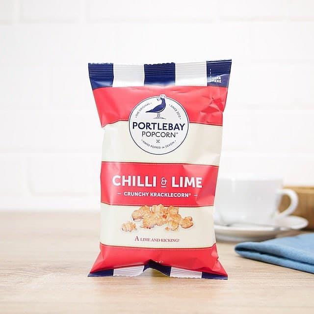 Chilli and Lime Kracklecorn by Portlebay Popcorn