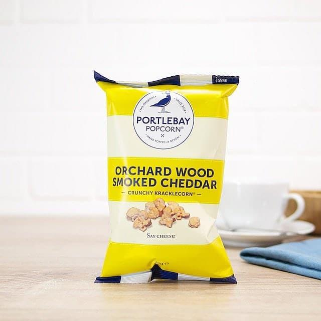Smoked Cheddar Kracklecorn by Portlebay Popcorn