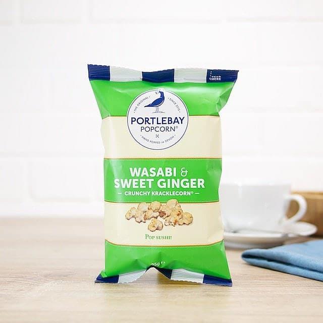 Wasabi and Sweet Ginger Kracklecorn by Portlebay Popcorn