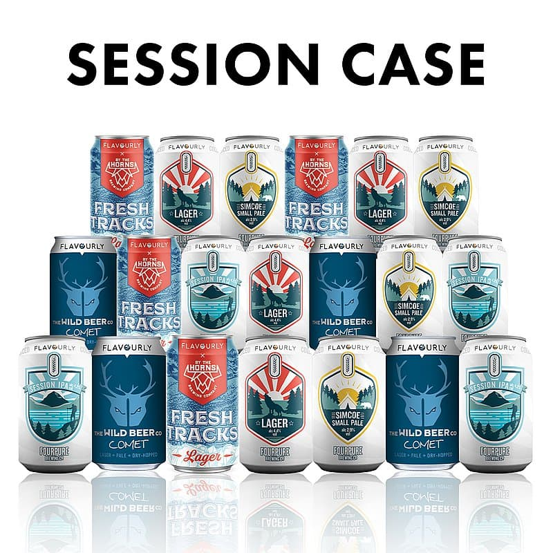 Session Style Case (20 beers)