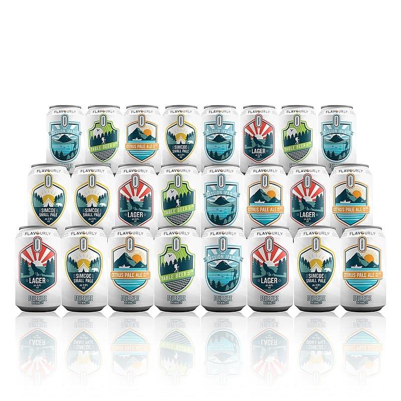 June Craft Beer Hamper (20 Beers + 2 Glasses)