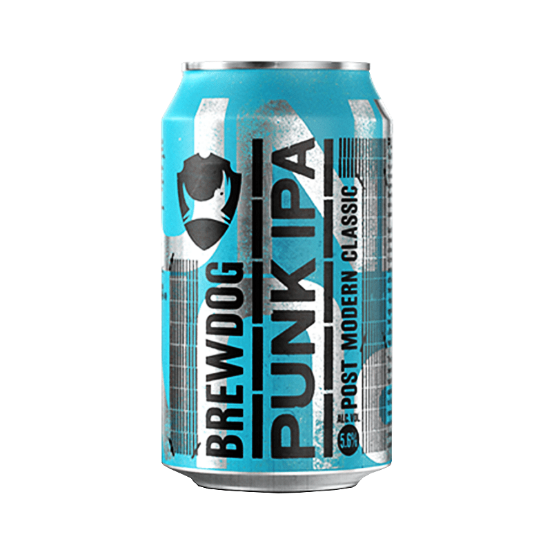 Punk IPA Can by Brewdog