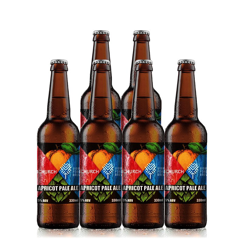 Apricot Pale Ale 6-Case by Redchurch Brewery
