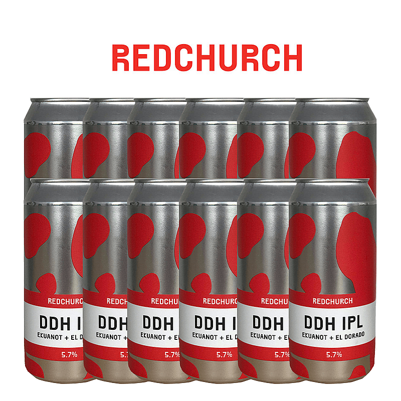 DDH IPL 12 Case by Redchurch Brewery