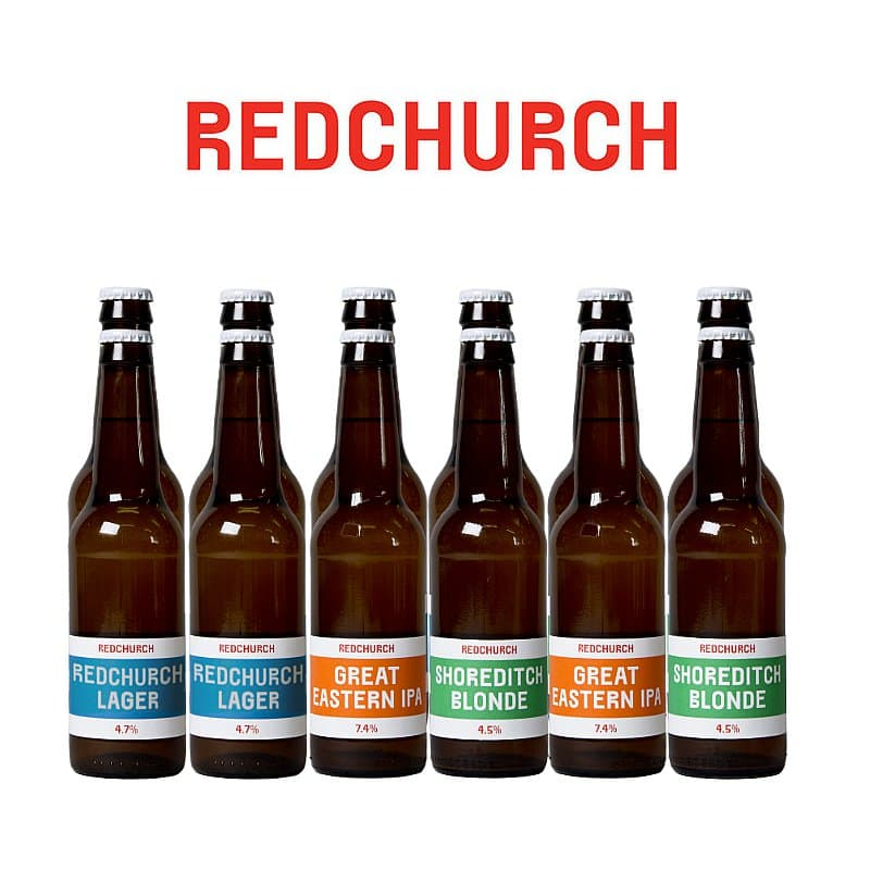 Clearance 12 Pale Case by Redchurch Brewery