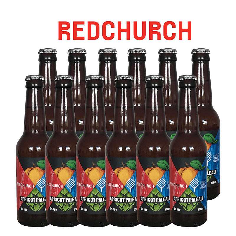 Apricot Pale Ale 12 Case by Redchurch Brewery