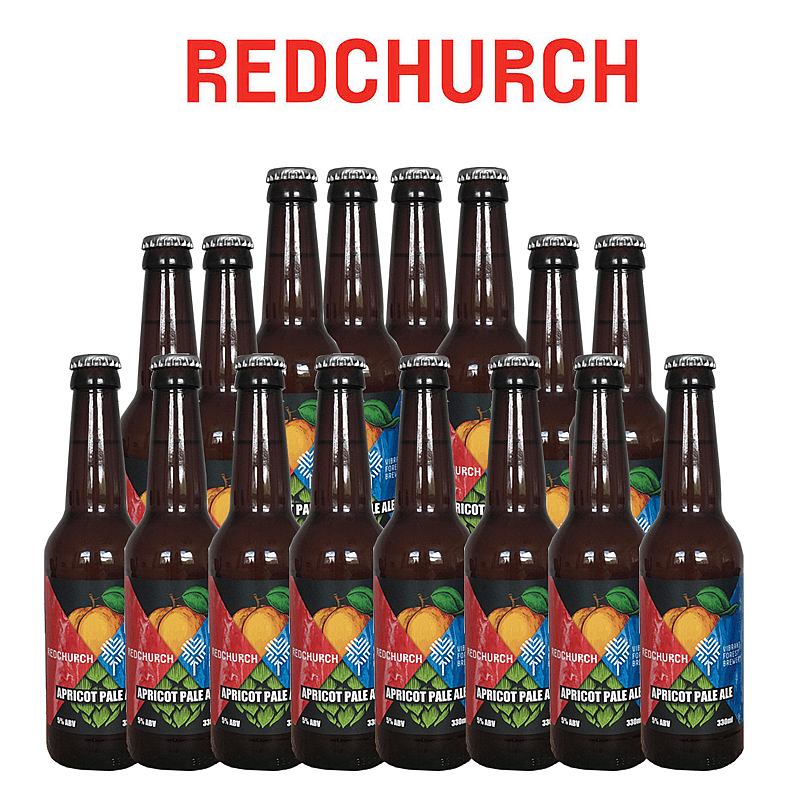 Apricot Pale Ale 20 Case by Redchurch Brewery