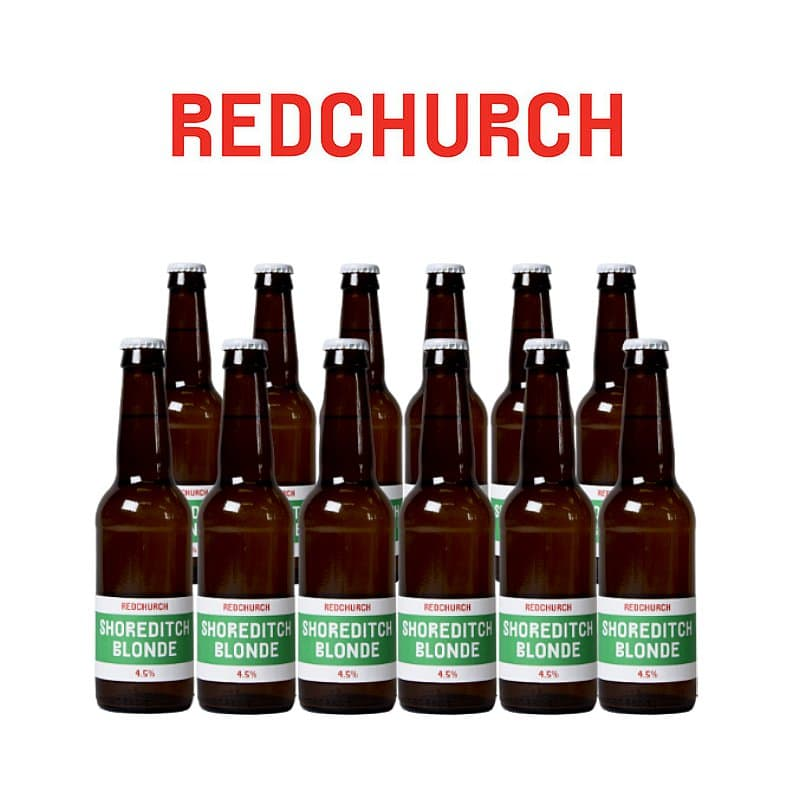 Shoreditch Blonde 12 Case by Redchurch Brewery