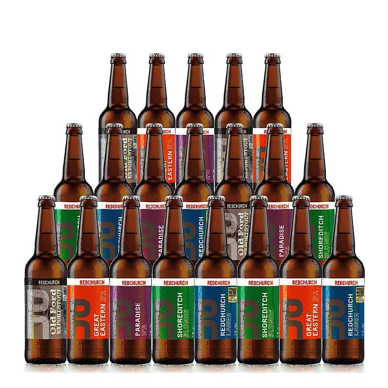 Mixed 20 Case by Redchurch Brewery