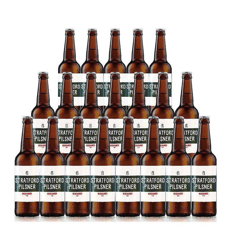 Redchurch Stratford Pils by Redchurch Brewery