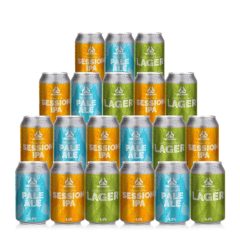 Light Mixed 20 case by Reunion Ales
