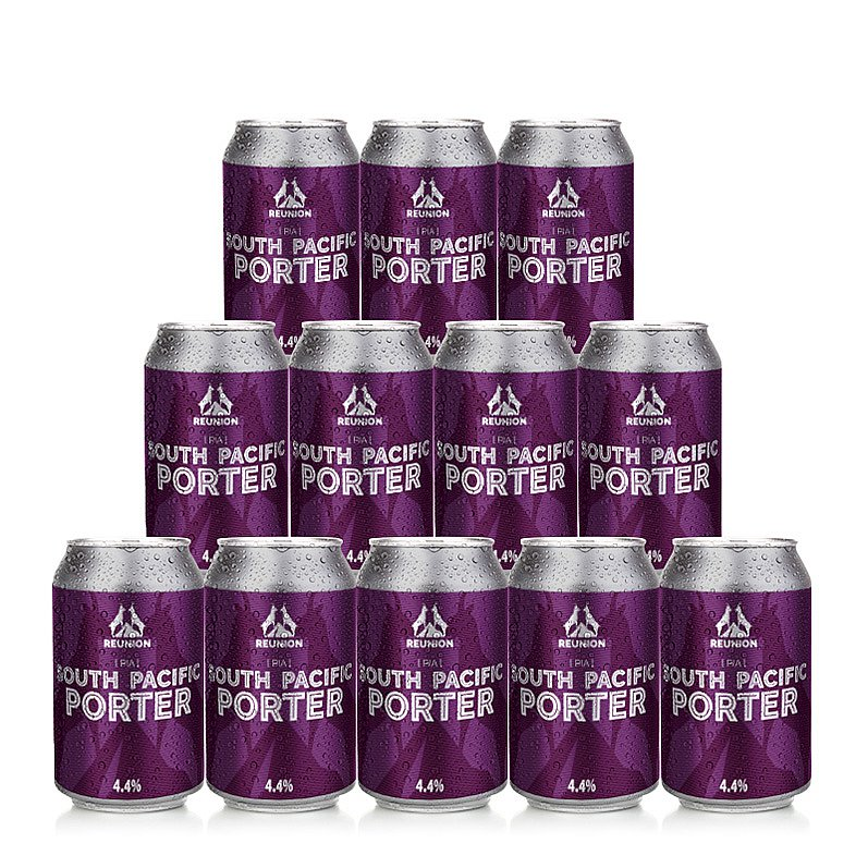 South Pacific Porter 12 Case by Reunion Ales