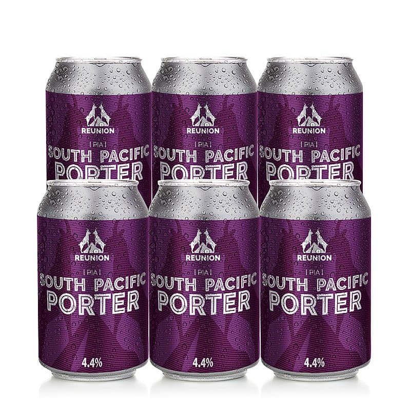 South Pacific Porter 6 Case by Reunion Ales