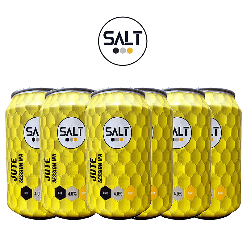 Jute Session IPA 6 Case by Salt Beer Factory
