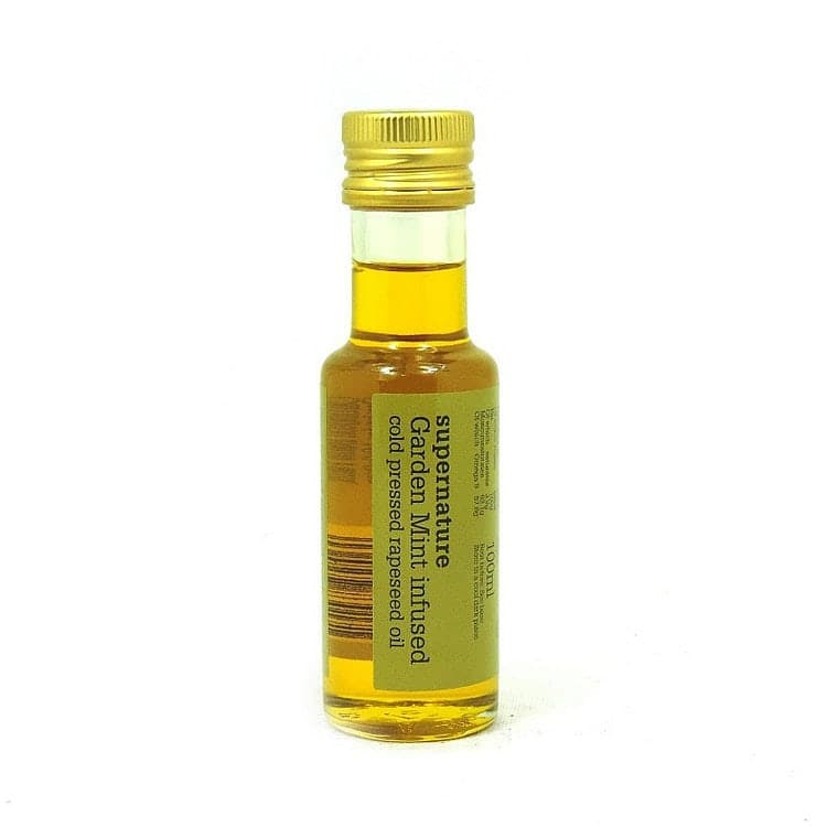 Garden Mint Infused Rapeseed Oil by SuperNature UK