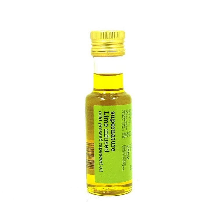 Lime Infused Rapeseed Oil by SuperNature UK