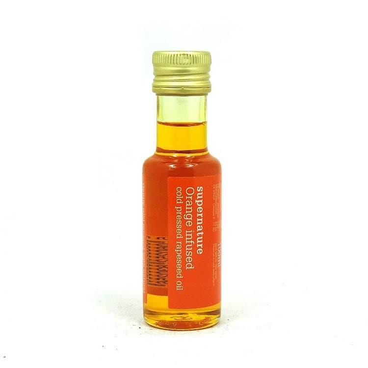 Orange Infused Rapeseed Oil by SuperNature UK