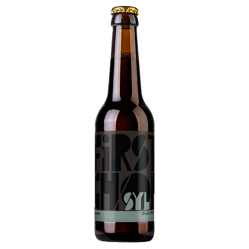 SYL Black IPA by First Chop Brewing Arm
