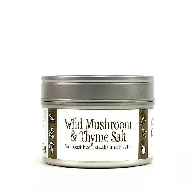 Wild Mushroom and Thyme Salt by Saison