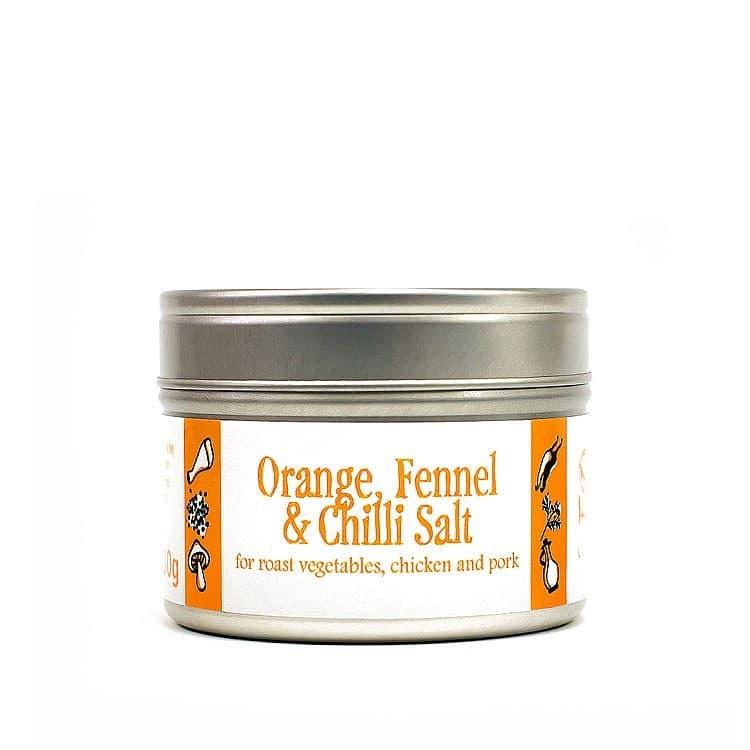 Orange Fennel and Chili Salt by Saison