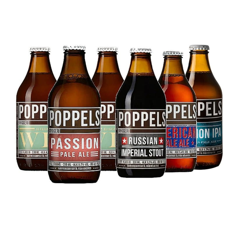 Poppels Brewery Collection by Poppels Bryggeri