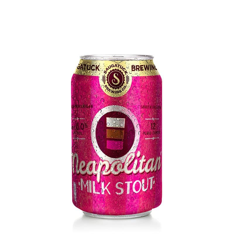 Neapolitan Milk Stout by Saugatuck Brewing